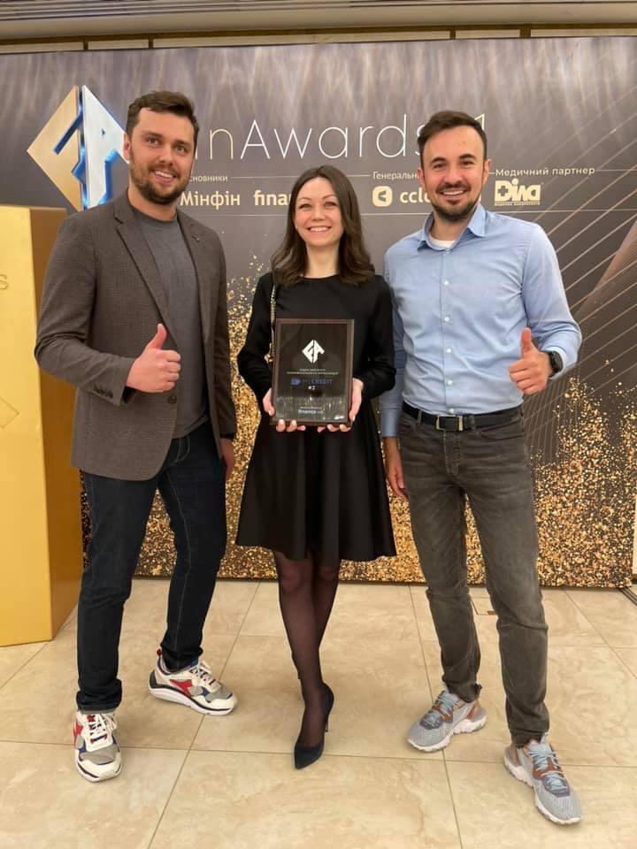 MyCredit на FinAwards21